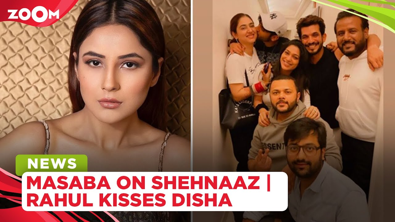 Masaba Gupta wants to dress up Shehnaaz Gill | Rahul Vaidya cutely kisses his wife Disha
