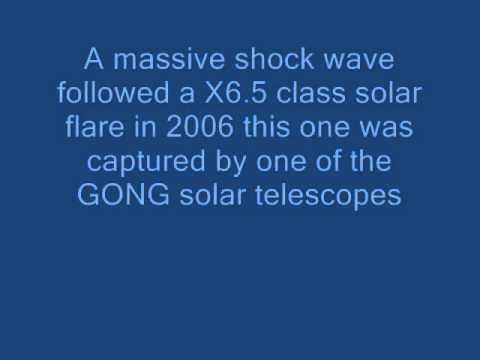 Spectacular Solar shock waves caught on camera