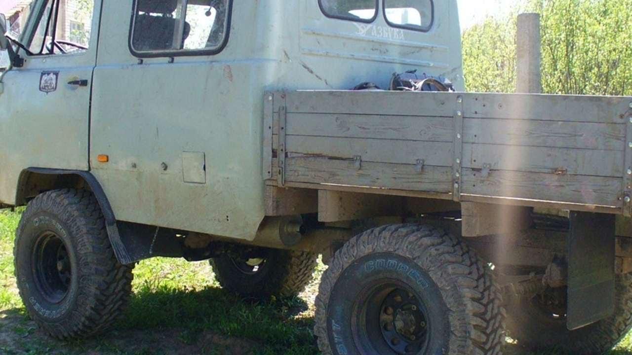 Тюнинг уаз фермер своими руками фото 976