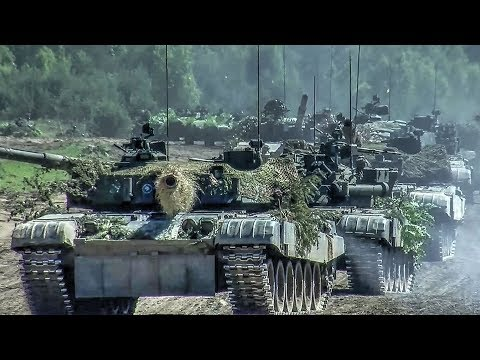 NATO Tanks Maneuver In Poland – Operation Saber Strike