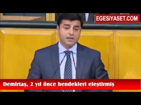 Demirtaş'ın 2 Yıl Önceki Hendek Konuşması