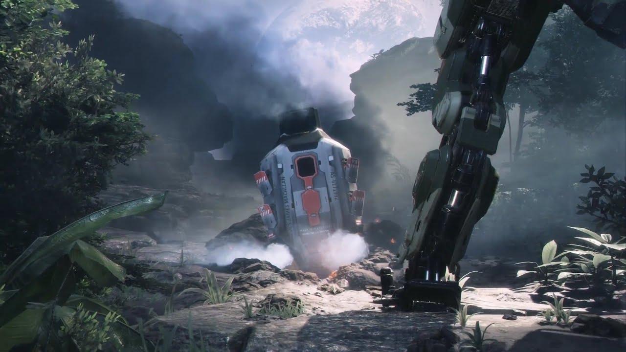 Mass Effect Fall Wallpaper Titanfall 2 Trailer Robot Swords Confirmed Youtube