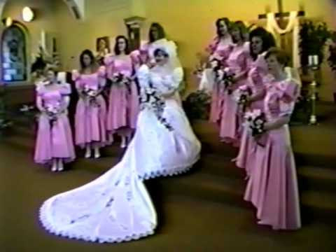 May 9, 1992 Mary & Mike Stevens Wedding