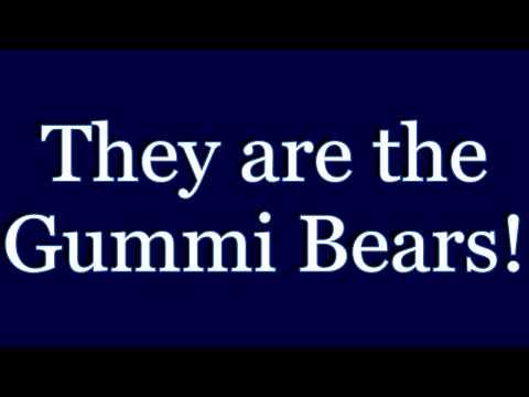 Disney's The Adventures Of The Gummi Bears Theme
