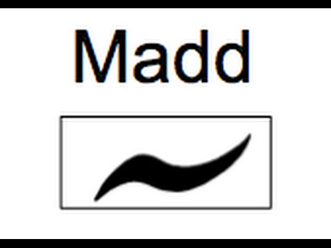 Madd - Diacritical Marks - Section 2 Lesson 6