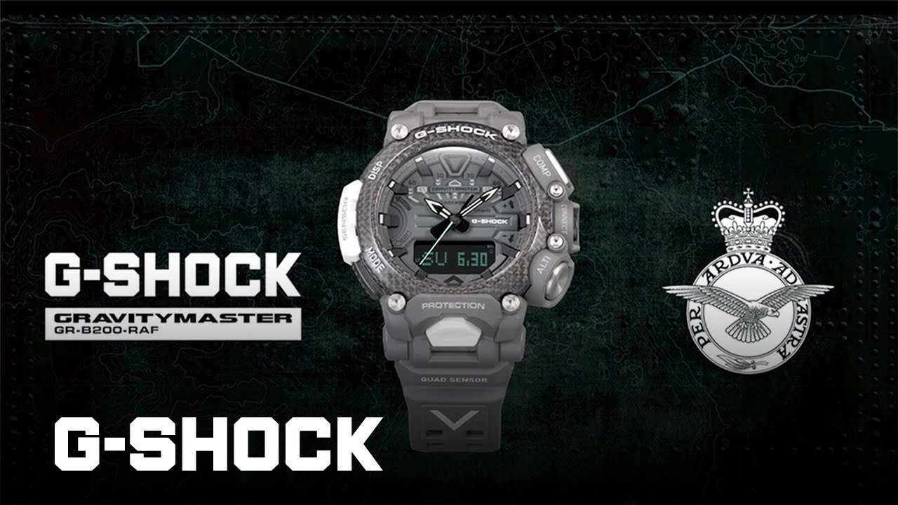 Royal Air Force x G-SHOCK GRAVITYMASTER Collaboration:CASIO G-SHOCK