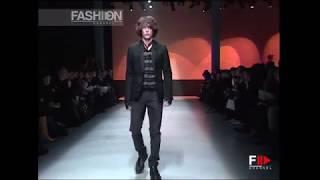COSTUME NATIONAL Autumn Winter 2008 2009 Menswear   Fashion Channel