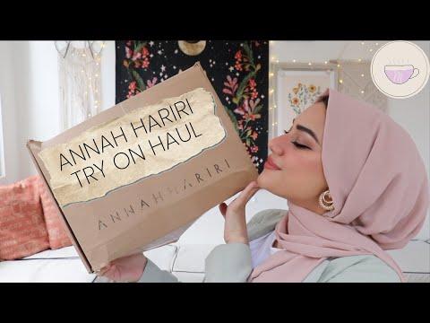MIMISCUPOFTEA   ANNAH HARIRI TRY ON HAUL