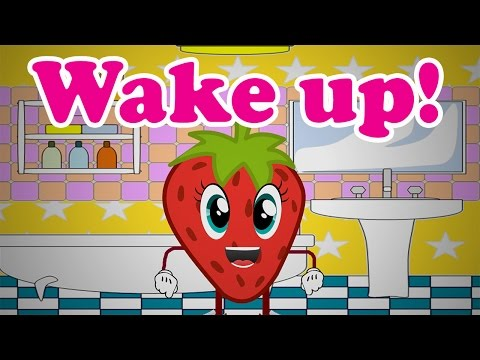 The Wake Up Song  Cherry Cherry Rock Rock  PickleNation TV Nursery Rhymes & Songs For Children
