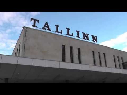 Baltic Station  railway station in Tallinn Estonia.