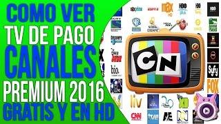 Ver TV Cable Premium totalmente gratis en Android | Canales HD | [2018] Actualizable!