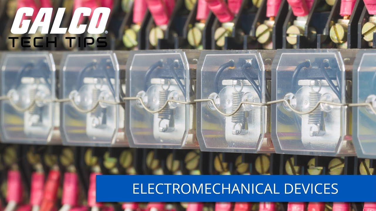 electromechanical devices a galco