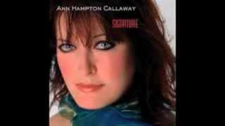 "Ann Hampton Callaway - ""You Turned the Tables On Me"""