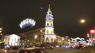 Санкт-Петербург на пороге Нового 2018 года - Новогодний наряд. Saint Petersburg.