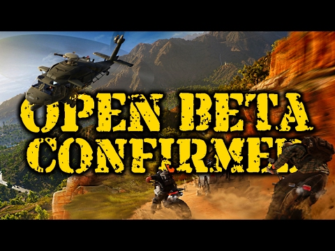 OPEN BETA CONFIRMED for Ghost Recon Wildlands!