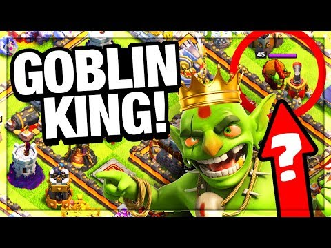 The GOBLIN KING is IN Clash of Clans! Clash of Clans Christm