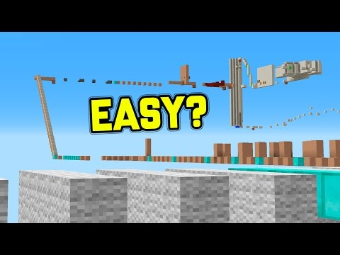 THE EASIEST PARKOUR MAP!