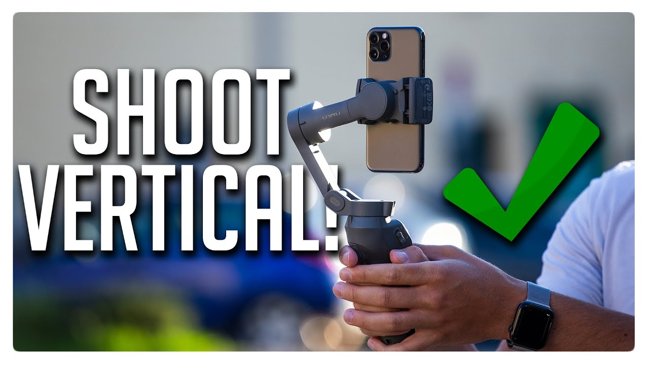 Shooting VERTICAL VIDEO is professional - Here's why