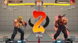 Ultra Street Fighter IV battle: Cody vs Evil Ryu
