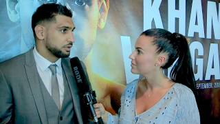 AMIR KHAN ON SAMUEL VARGAS, PACQUIAO, CHARITY WORK IN GAMBIA, AND SUPER BOXING LEAGUE