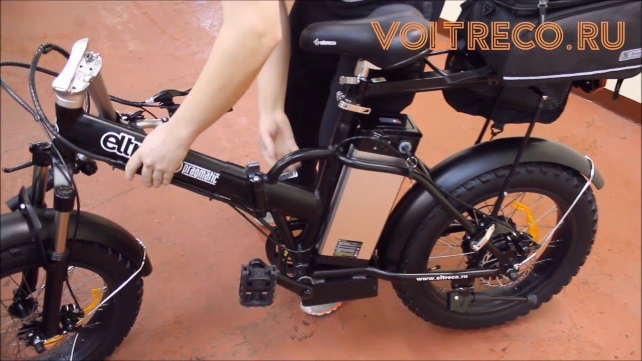 Электро велосипед Фет байк часть 4 - YouTube