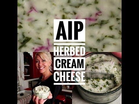 AIP Herbed Cream Cheese (vegan)