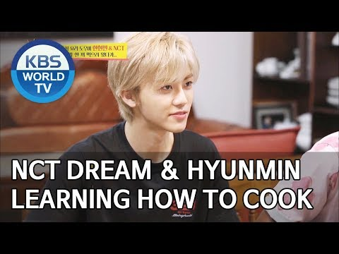 NCT DREAM And Han Hyunmin Learning How To Cook Korean Food [Boss In The Mirror/ENG/2019.09.22]