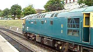 Class 33 at Swanage
