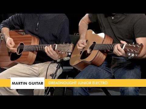 Test complet des guitares MARTIN Dreadnought Junior (Banc d'essai de la Boite Noire)