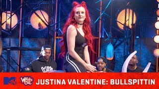 Justina Valentine Is the Queen 👑 Of Bullspittin 💦   Wild 'N Out   MTV