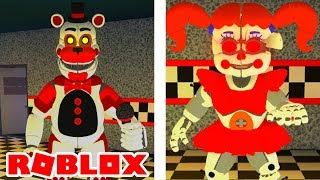 Showtime Freddy, Night Terrors Circus Baby, Plush Baby, and MORE Added in Roblox Circus Baby's Pizza