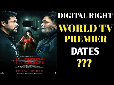 THE BODY Movie's World Tv Premier And Digital Right | Emraan Hashmi | SouravInfo