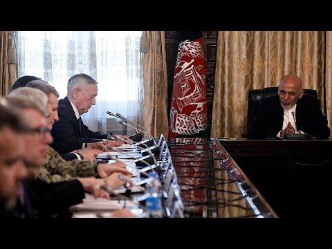 ABD Savunma Bakanı Afganistan'da