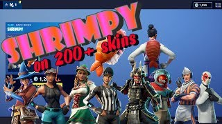 Fortnite SHRIMPY Back Bling on 200+ skins