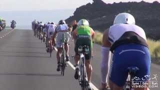 Pro Men Bike Course Footage, 2013 Hawaii Ironman Kona