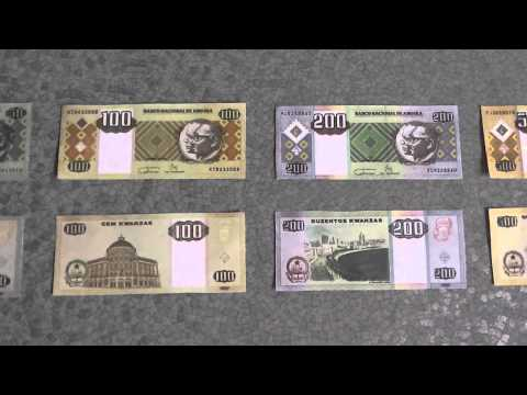 All Banknotes of Angolan kwanza - 1 Kwanza to 2.000 Kwanzas - 1999 to 2011 Issue in HD