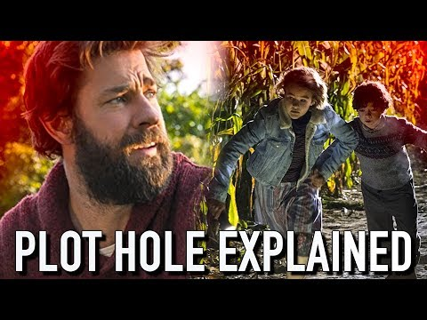 A Quiet Place: Waterfall Plot Hole Explained | A Quiet Place Explained