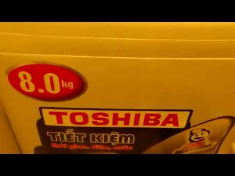 Máy giặt TOSHIBA kêu do hư bộ xả