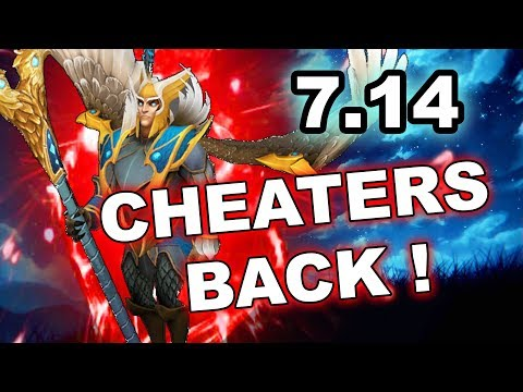 Dota 2 NEW 7.14 update - CHEATERS ARE BACK! thumbnail