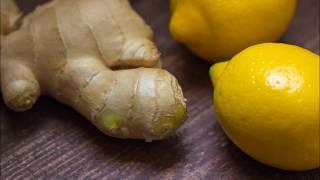 Джинджифил, мед и лимон