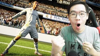 TENDANGAN PALING JEBRET YAAMPUN ! - FIFA 18 INDONESIA DEMO