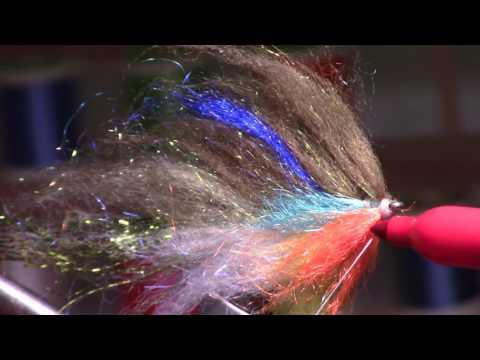 Squishy Head Bluegill UNDERWATER Footage! Realistic bluegill jerk bait streamer fly