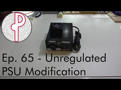 PTS Ep. 65 - Unregulated Linear Power Supply Modification