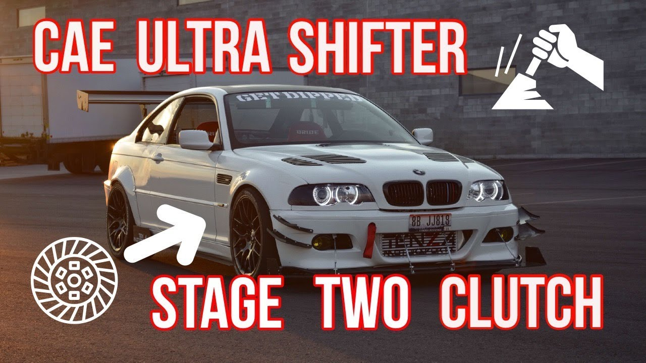 2001 E46 Stage 2 clutch and CAE shifter install+review