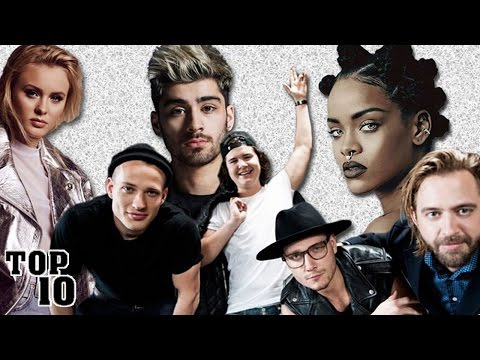 Top 10 Most Downloaded Songs 2016