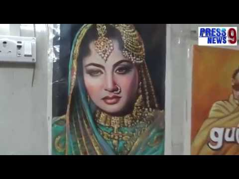 Bollywood Hand made Posters by an Artist of Mumbai