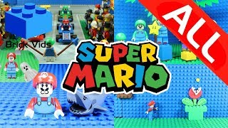 Lego Mario Ultimate Compilation - All Lego Mario Stop Motions - Mario Funny Kids