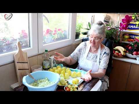 Bakina kuhinja - paprika punjena kupusom na tri načina zimnica