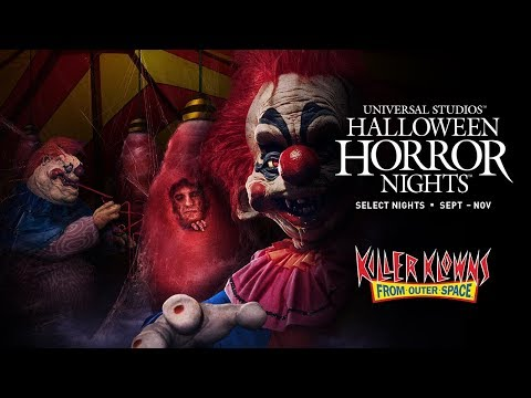 Killer Klowns From Outer Space House Reveal | Halloween Horror Nights 2019