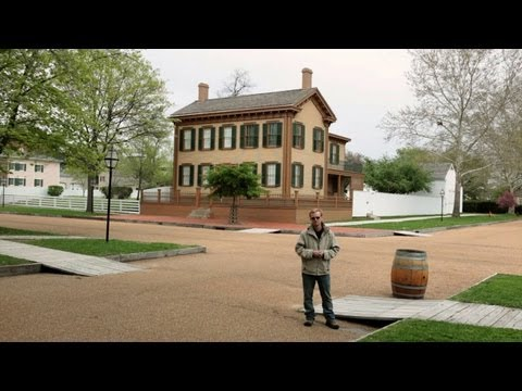 Lincoln Home National Historic Site in Springfield, IL with Road Trip Story